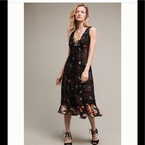 Anthropologie Garden Stroll Midi Dress